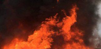 Barnala Bajakhana road Plywood Board Factory Fire