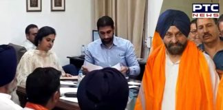 SAD candidate Maheshinder Singh Grewal files nomination from Ludhiana parliamentary constituency