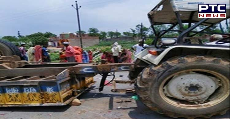 5 killed, 29 injured as tractor-trolley overturns in UP
