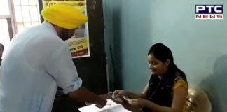 Sangrur Candidate Bhagwant Mann vote in Mohali