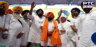 Iqbal Singh Sandhu joins SAD with thousands of supporters in presence of Majithia