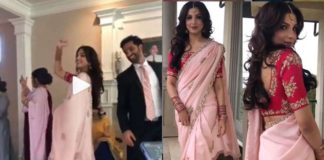 American model Monica Gill Gursan Sahota With Engagement