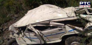 Himachal Pradesh Mandi district jeep falls into gorge ,5 killed, 5 injured