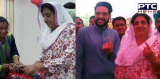 Lok Sabha elections 2019: Bibi Rajinder Kaur Bhattal Voted with family members