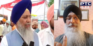 SGPC President Bhai Gobind Singh Longowal And Dr. Roop Singh vote