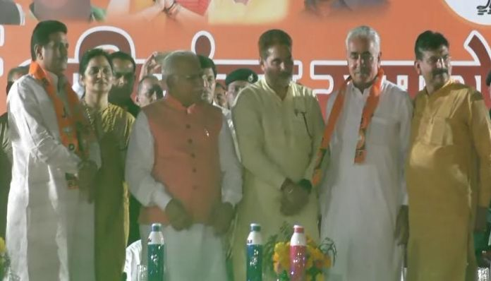 INLD Leader Joins BJP 3