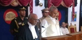 Justice V Ramasubramanian Takes Oath 3
