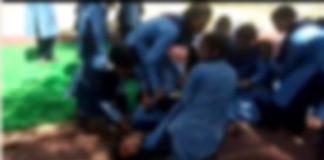 kathua bni high school Girl students Strange movements