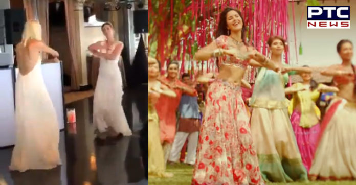 Watch: American Tennis Player Alison Riske dancing on Bollywood song Nachde Ne Saare