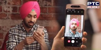 Watch: Diljit Dosanjh Unboxing Samsung Galaxy A80, Features, Specification