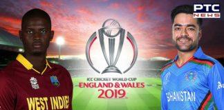 Afghanistan vs West Indies, ICC Cricket World Cup 2019