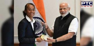 Golden Girl Hima Das promises PM Narendra Modi and Sachin Tendulkar, to do this