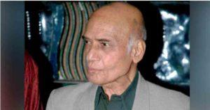 Veteran music composer Mohammed Zahur 'Khayyam' Hashmi Today Death