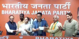Phogat Joins BJP