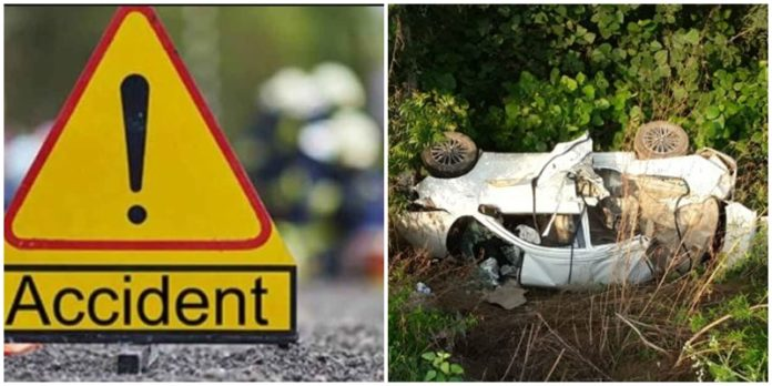 Patiala -Sangrur Bypass Road Accident , One Death ,3 injured