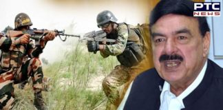 Pakistan Railways Minister Sheikh Rashid Ahmed predicts India Pakistan war in October