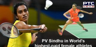 PV Sindhu named in World's highest-paid female athletes by Forbes
