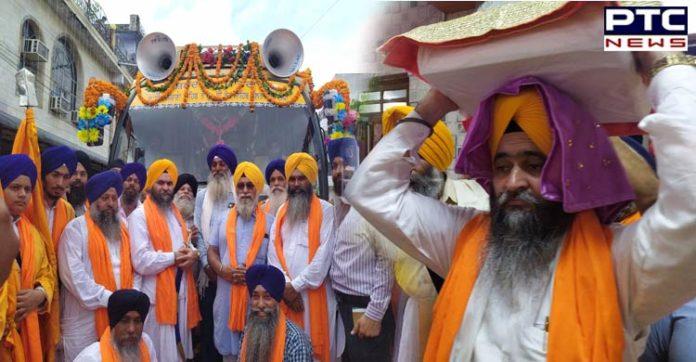International Nagar Kirtan departs from Kanpur to Gurudwara Sri Guru Singh Sabha in Prayagraj, Uttar Pradesh