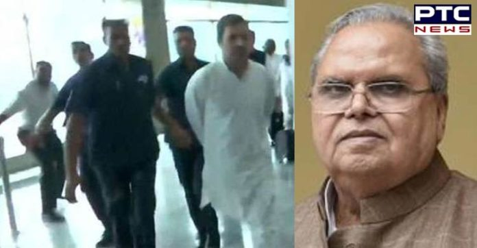Rahul Gandhi made my invitation an unending business: Jammu and Kashmir Governor Satya Pal Malik