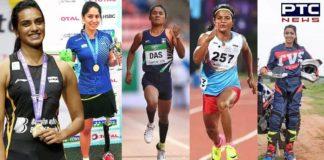 National Sports Day 2019 PV Sindhu Manasi Joshi Hima Das Aishwarya Pissay Dutee Chand