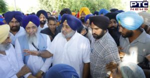 Sukhbir Singh Badal Sultanpur Lodhi Flood-affected villages