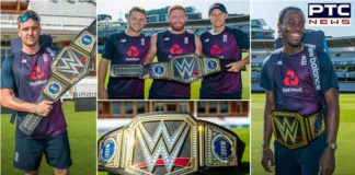 World champions England gets WWE Championship belt, as promised by Triple H