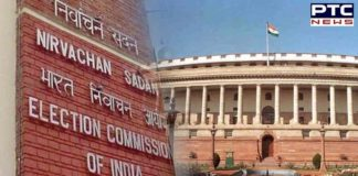 Election Commission announces by polls for two Rajya Sabha seats