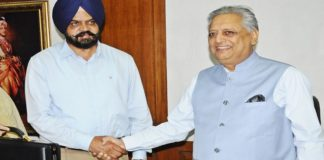 Vidhan Sabha Speaker administers oath of office to Manpreet Singh Ayali
