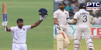 India vs South Africa 2nd Test Day 1: Mayank Agarwal smashes century