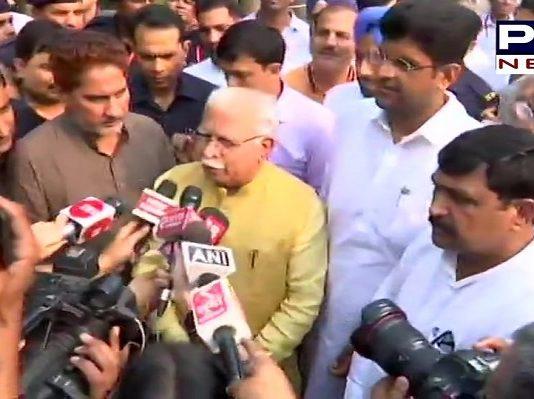 Manohar Lal Khattar to take oath as Haryana CM tomorrow