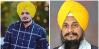 Singer Sidhu Moose Wala against Jathedar Harpreet Sing order of action