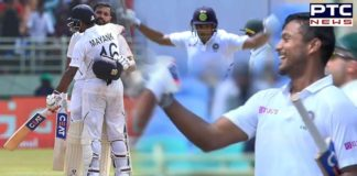 India vs South Africa 1st Test: Mayank Agarwal smashes maiden Test century