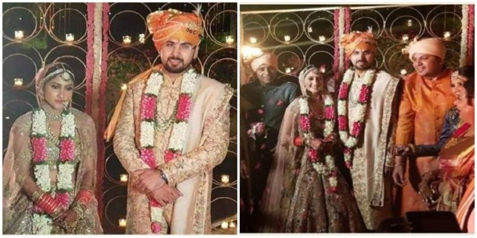 Raebareli MLA Aditi Singh And Punjab Congress MLA Angad Singh Wedding
