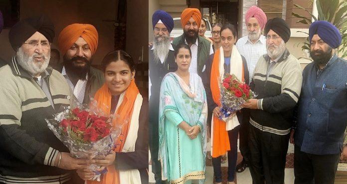 Daljit Singh Cheema felicitates Asian shooting championship medallists