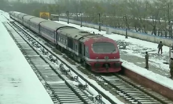 Jammu and Kashmir: Rail service resumes after remaining suspended for 3 months