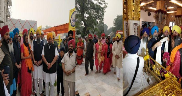 550th Parkash Purb: Nirmala Sitharaman visits Gurdwara Bangla Sahib