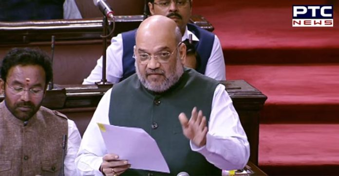 Not a single person died in police firing in Kashmir: Amit Shah in Rajya Sabha
