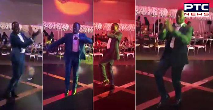 [VIDEO] Foreigner doing Gidda on Punjabi song at Brampton, Canada