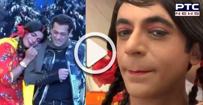 Bigg Boss 13: Sunil Grover aka Gutthi returns, romances Salman Khan [VIDEO]