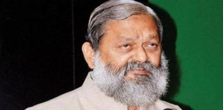 Congress opposes every good work happening in the country sayn Anil Vij hn