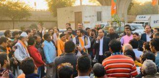 CM Jairam Thakur campaigns in favor of BJP Candidates in Delhi