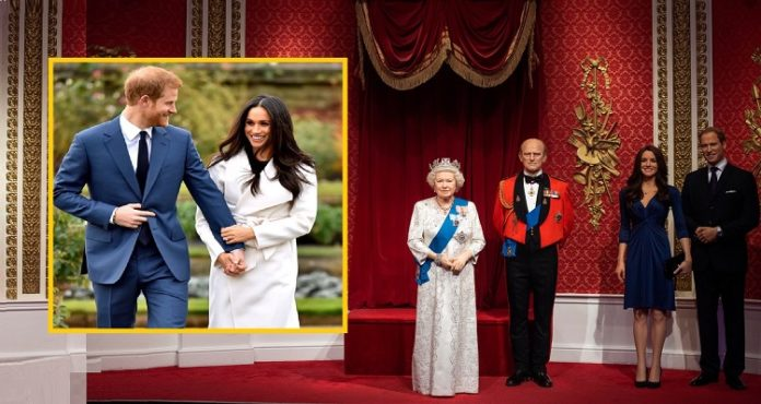 Prince Harry Meghan markle statues removed at Madame Tussauds in London