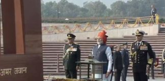 PM Modi pays tributes Martyrs at National War Memorial on Republic Day