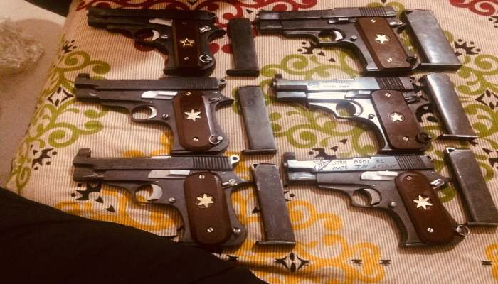 Haryana Police avert major crime, 4 arrested with illegal weapons