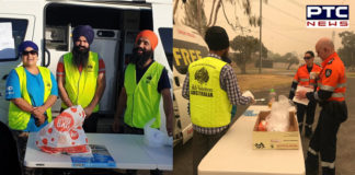 Australia bushfires: Sikh volunteers offer free food to victims