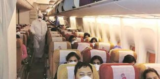 324 Indians rescued from Wuhan, Air India Plane Landed in Delhi