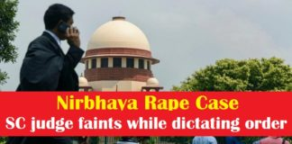 Nirbhaya rape case , Supreme Court judge faints while dictating order