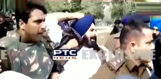 Bikram Majithia detained , SAD leaders , Farmers Protest , Manpreet Badal