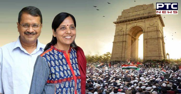 Delhi Election Results 2020 , Arvind Kejriwal Wife Sunita Kejriwal Birthday