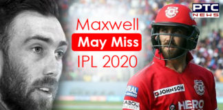 Glenn Maxwell to Miss Initial Matches , IPL 2020 News , Kings XI Punjab
